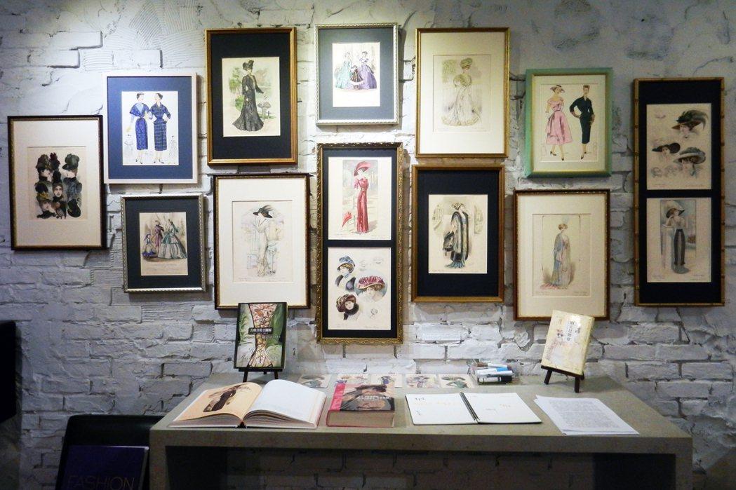 舊香居藝空間策劃的「非常霓裳——巴黎時尚版畫展」,展出數百件19世紀末到20世紀...