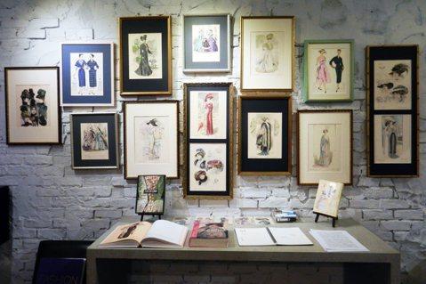 版畫裡的巴黎百年服裝演化史(上):流行易逝,風格永存