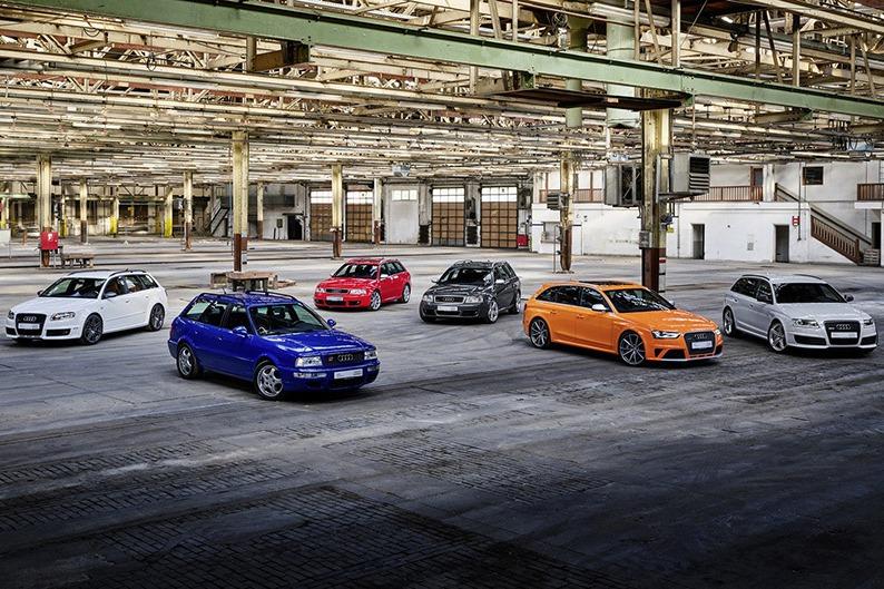 Audi RS頂級性能車款歡慶25歲! 今年還將發表2款全新RS!