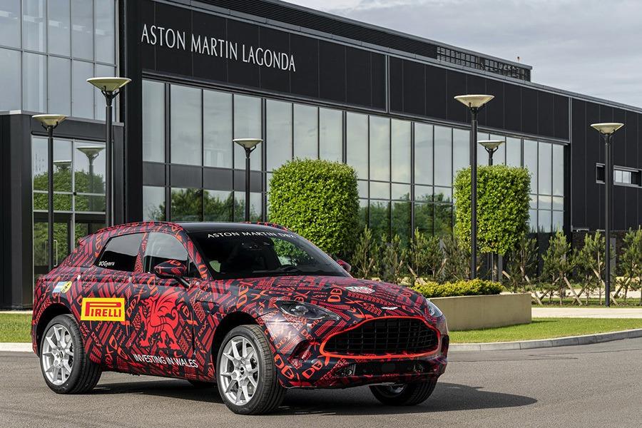 如何讓跨界休旅更有樂趣?Aston Martin認為「甩尾模式」應該可以!