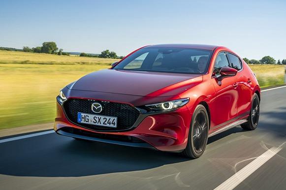 新世代Mazda3 SkyActiv-X五門掀背10月登陸英國!售價2.3萬英鎊起跳