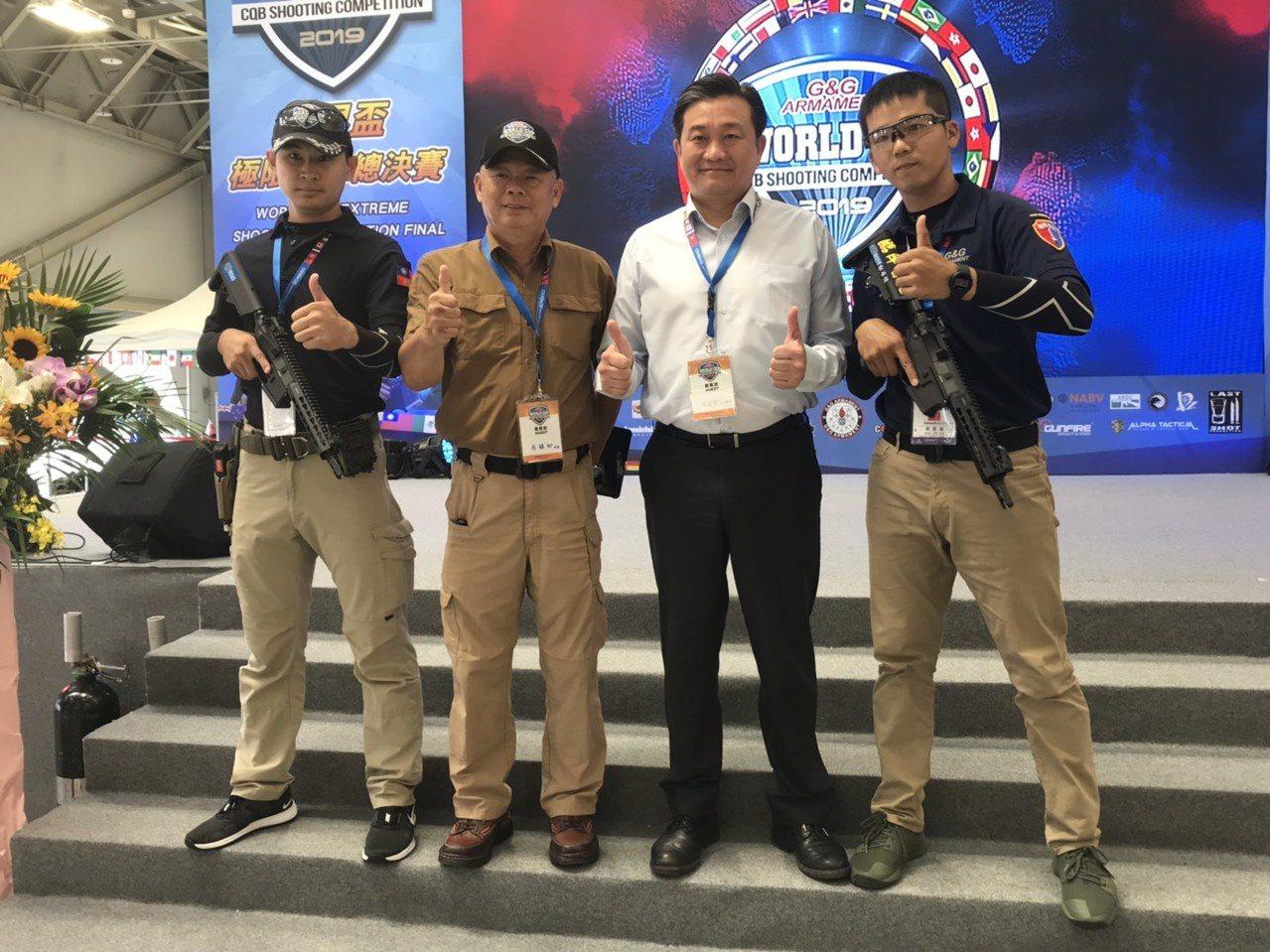 「步光隊」將在世界盃極限射擊總決賽迎戰全球列強。記者劉肇育/攝影