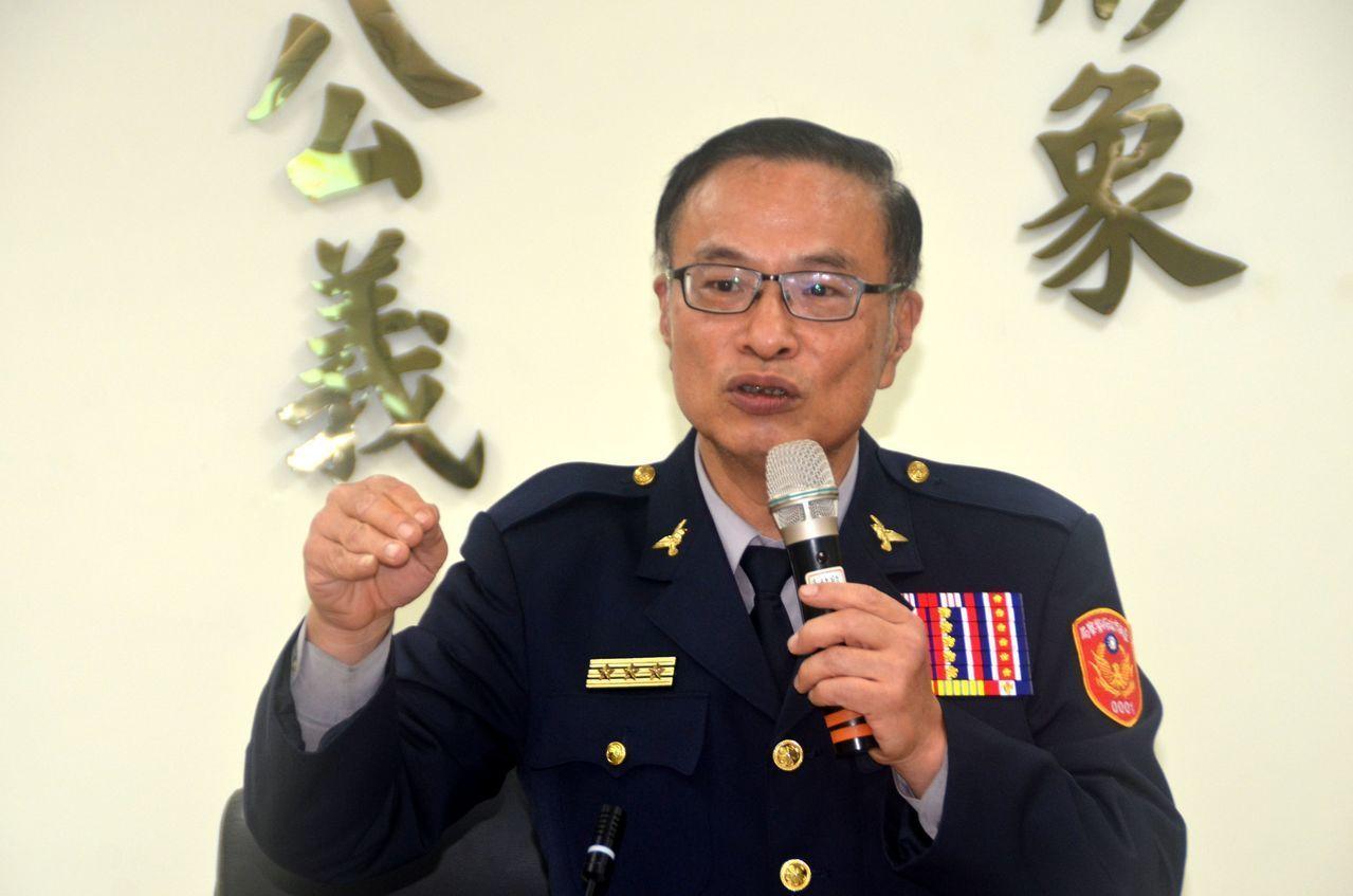 台南市警局長黃宗仁。圖/聯合報系資料照