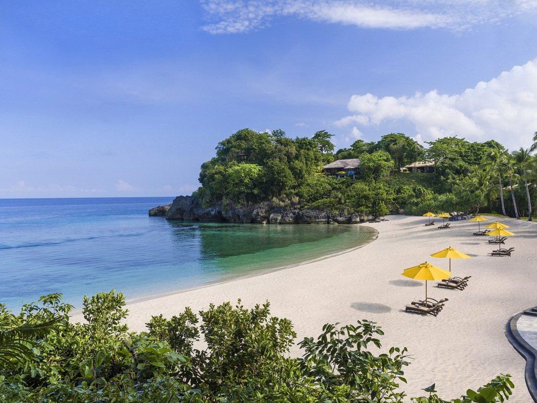 提早預訂就送蜜月行,圖為菲律賓香格里拉長灘島度假酒店。圖/香格里拉台北遠東提供