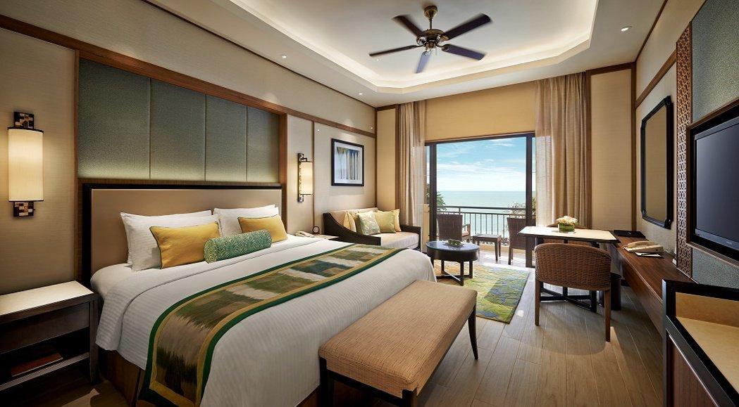 提早預訂就送蜜月行,圖為馬來西亞檳城香格里拉沙洋度假酒店。圖/香格里拉台北遠東提...