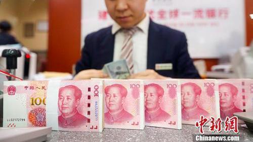 本周人行透過各類政策工具和手段,釋放的資金量將近人民幣6,000億元。 中新社資...