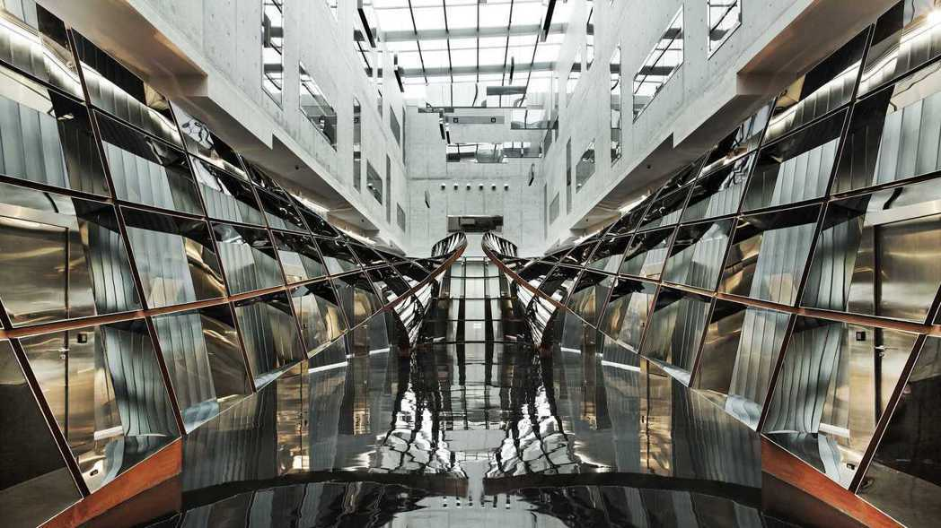 新加坡樟宜機場旁自由港區免稅倉儲服務的大廳。該倉儲服務正尋求轉手。 路透社