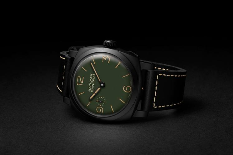 RADIOMIR綠面48毫米黑色噴砂陶瓷腕表,PAM00997,40萬7,000...