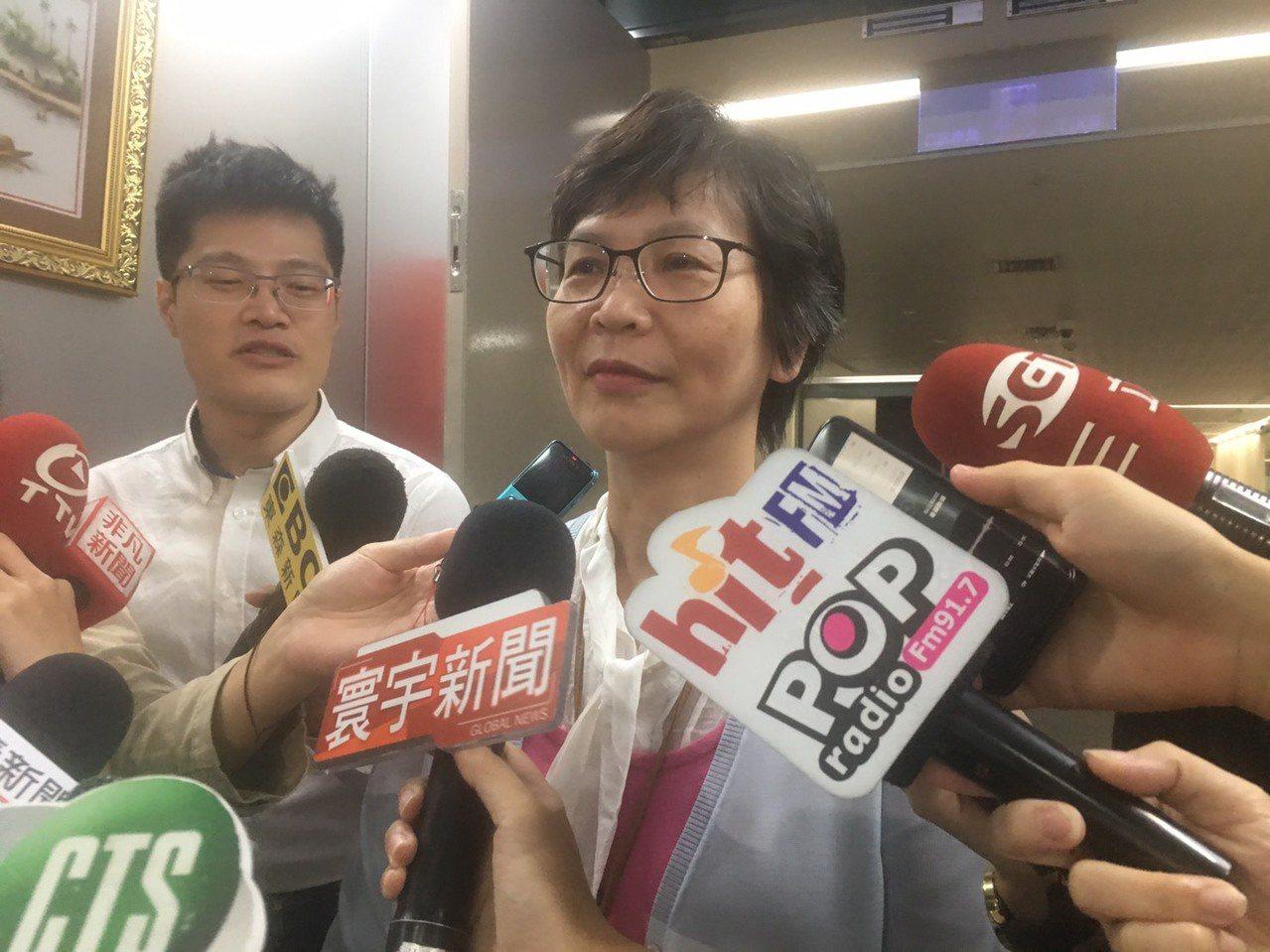 台北市市府顧問蔡壁如昨和各媒體高層餐敘,引發外界議論。記者魏莨伊/台北報導