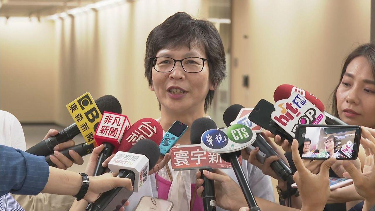 市府顧問蔡壁如昨更和各媒體高層餐敘,但她解釋,過去不太跟媒體往來,她就是聽聽媒體...
