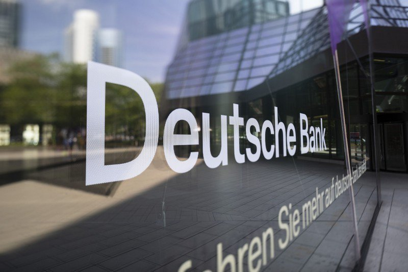 德意志銀行。彭博