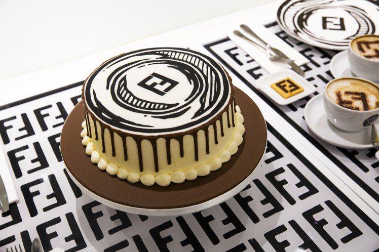 Harrods百貨公司6樓的FENDI CAFFE, 8月31日前推出各式甜點。...