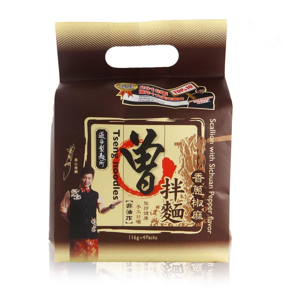 過海製麵所曾拌麵-香蔥椒麻(116g X 4包),Yahoo奇摩購物中心特價15...