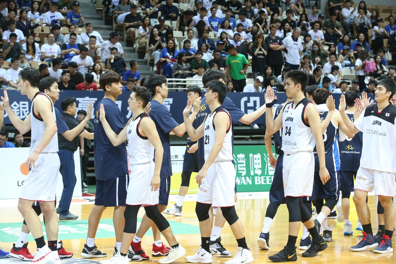 日本以2分差惜敗南韓。記者葉信菉/攝影