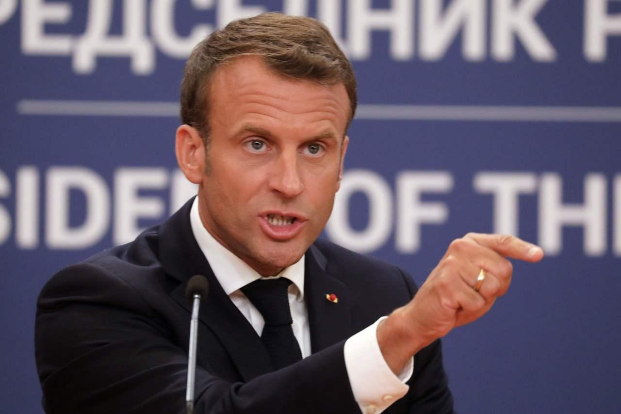 法國總統馬克宏因為「黃背心」示威暫停改革九個月以來,首次恢復改革,將鼓勵民眾延後...