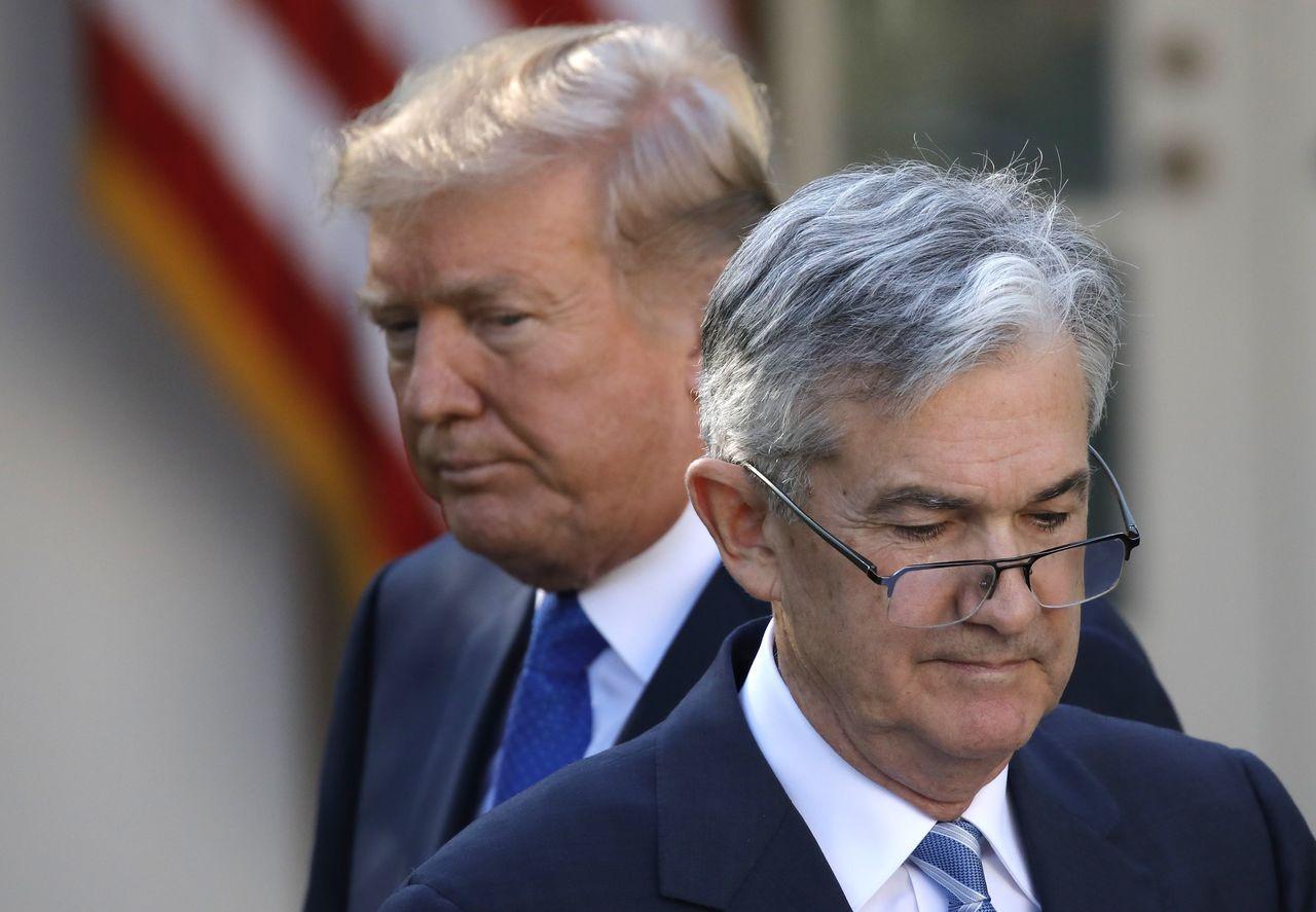 鮑爾掌舵下的Fed利率政策引起美國總統川普極大不滿。路透