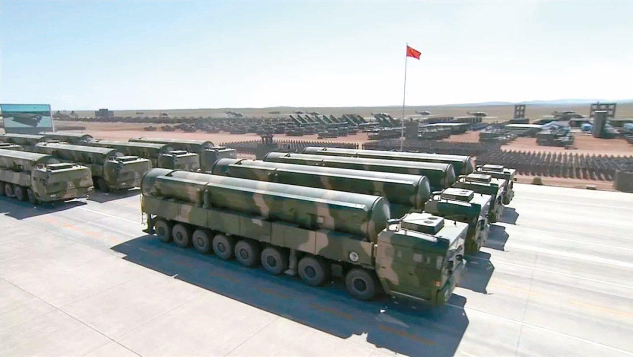 東風-31A改進型洲際彈道導彈。 圖/摘自搜狐網