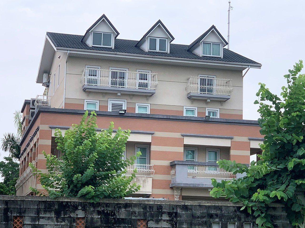 高雄市長韓國瑜妻子李佳芬位於雲林縣古坑鄉的農舍。聯合報系資料照/記者陳雅玲攝影