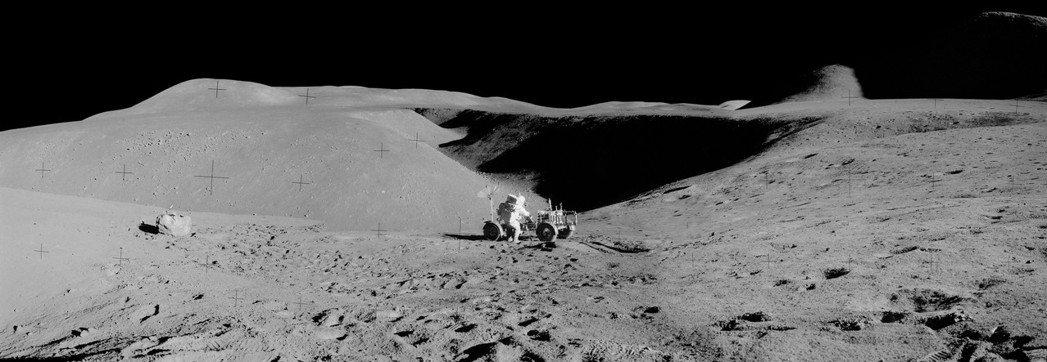 1969年7月20日,太空人阿姆斯壯踏上月球 圖/NASA