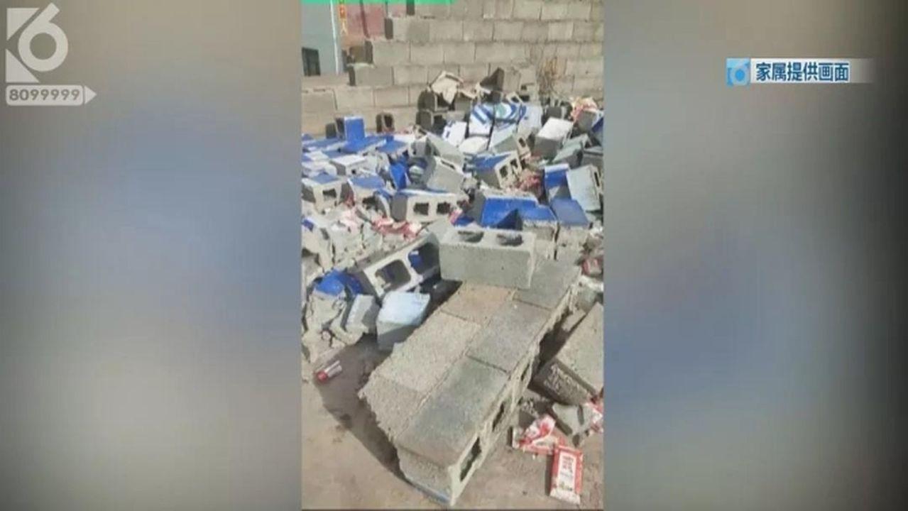 網紅直播母親喪禮 臨時雨棚倒塌致18人重傷 影片截圖