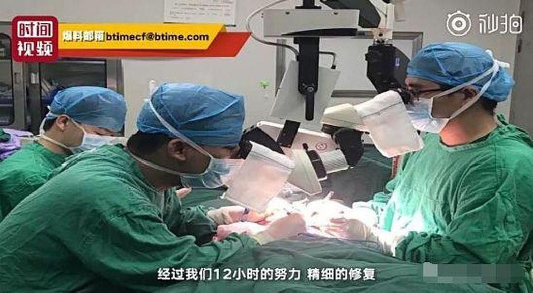 江西18歲男生稱遭欺凌 將生殖器剪成4段 影片截圖