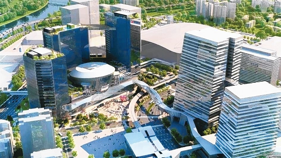 南港展覽館附近的三井「LaLaport南港」已動工,將可為南港地區帶入更多的消費...