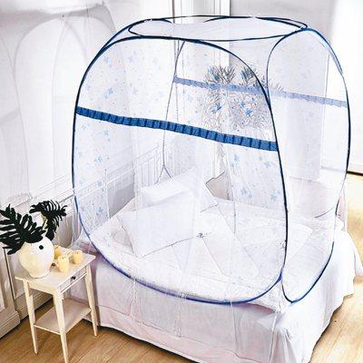 蒙古包造型方形大空間彈開式蚊帳。 圖/Yahoo奇摩超級商城提供