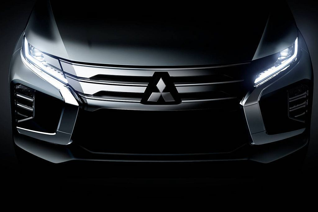 小改款三菱Pajero Sport,車頭則遵循新Mitsubishi ASX(O...