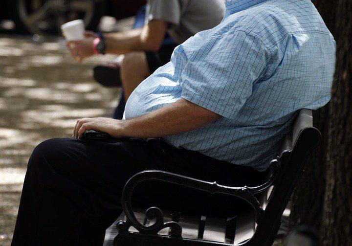 國外常見異常肥胖的人們。圖/美聯社
