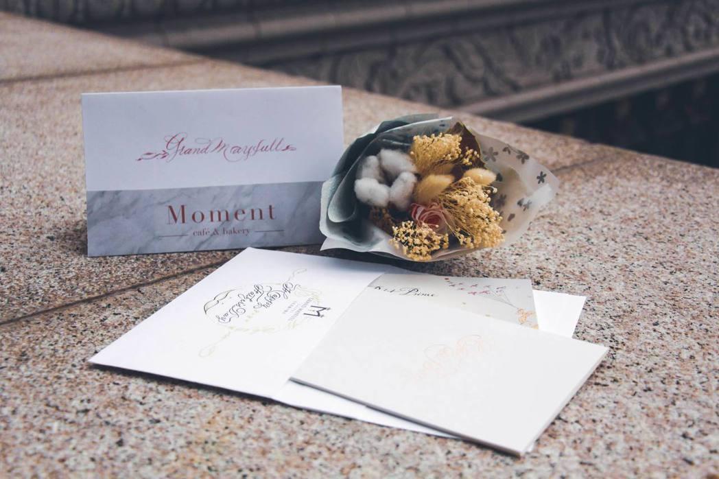 台北美福大飯店_以愛之名藝術書寫會下午茶。業者/提供