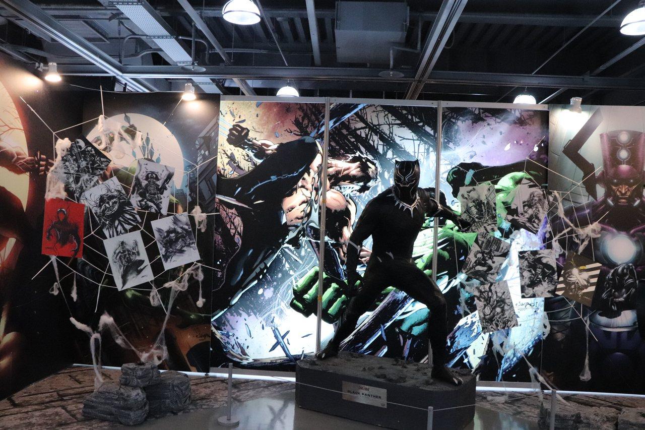 2019桃園國際動漫大展28日前在桃園展演中心舉辦,今年主題以「時代X我的英雄」...