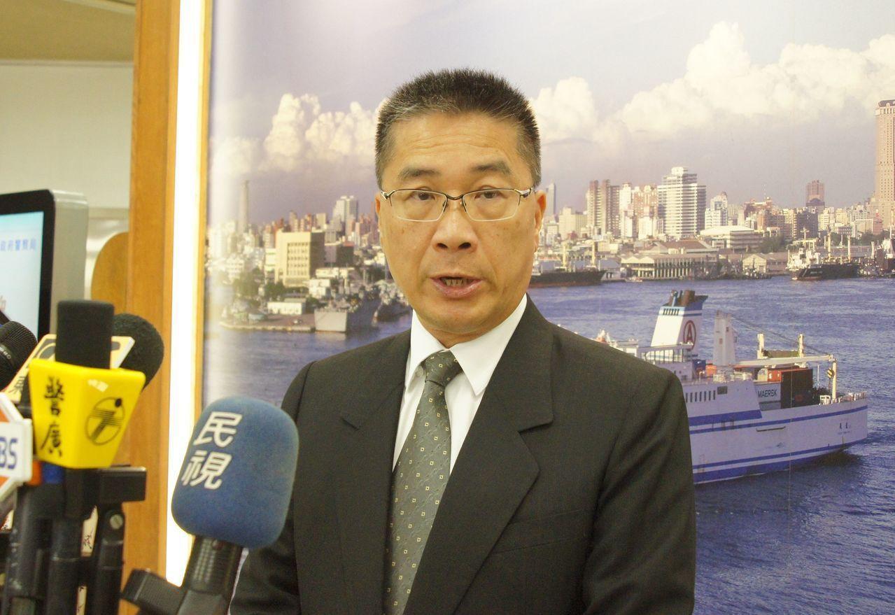 內政部長徐國勇。 聯合報系記者林保光/攝影