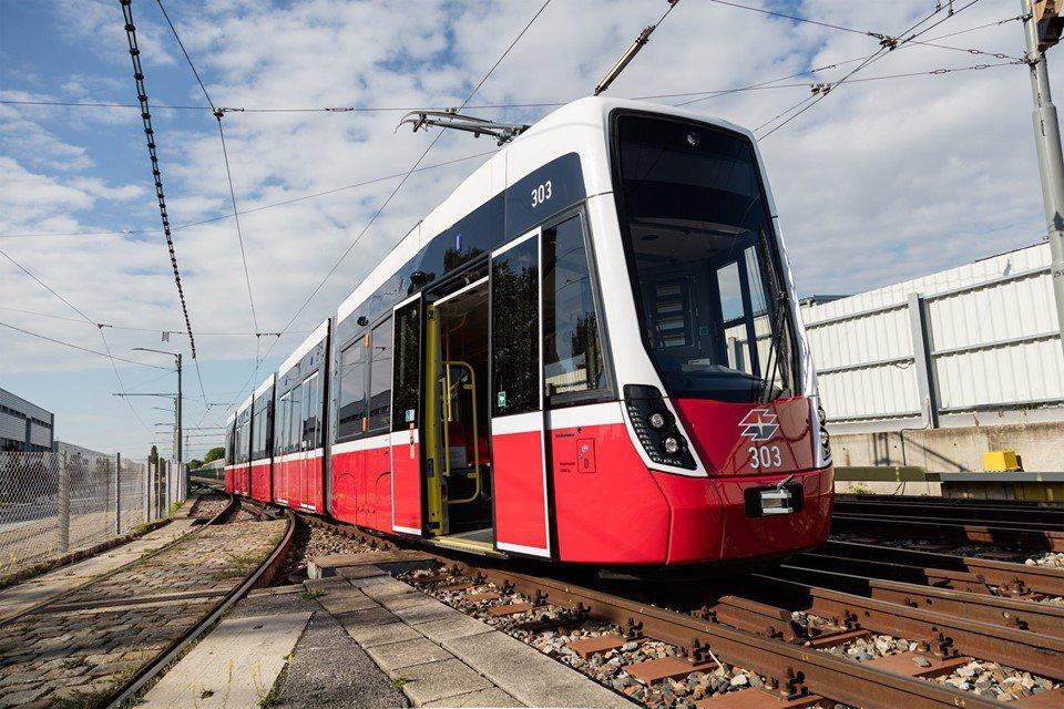 維也納大眾運輸公司推出香水列車。取自維也納大眾運輸公司臉書