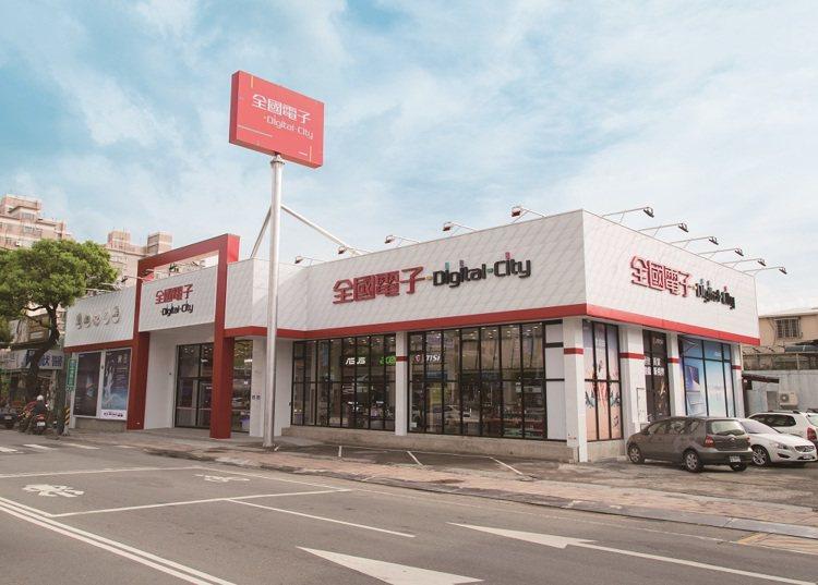 全國電子DigitalCity台中大雅店位於中清路及雅潭路口,擁有約160坪賣場...