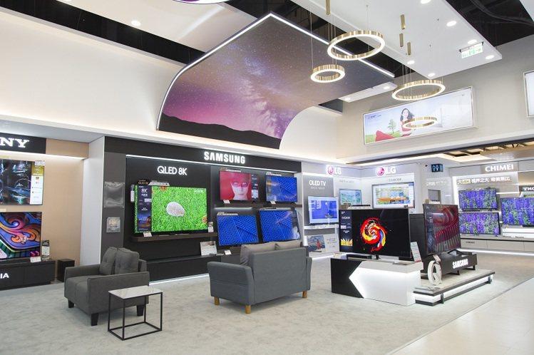 全國電子DigitalCity台中大雅店影視專區可體驗超夯的8K、QLED、OL...