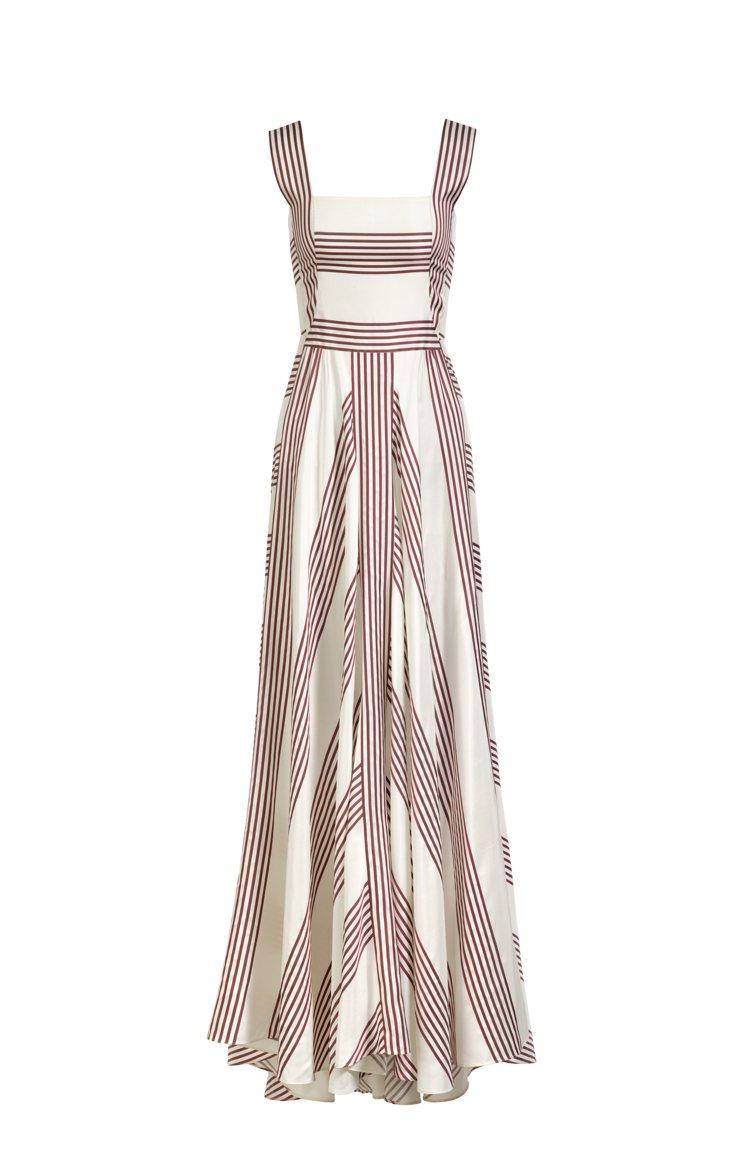 安潔莉娜裘莉選穿的Loro Piana的Camille連身裙,價格店洽。圖/Lo...