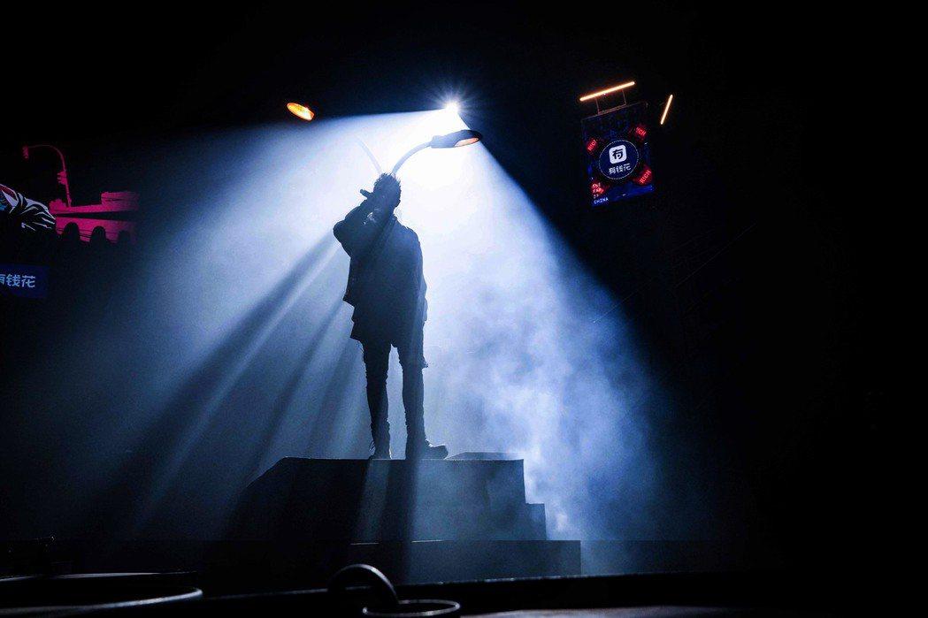 潘帥在「中國新說唱」的明星導師大秀,得了最後一名。圖/華納提供