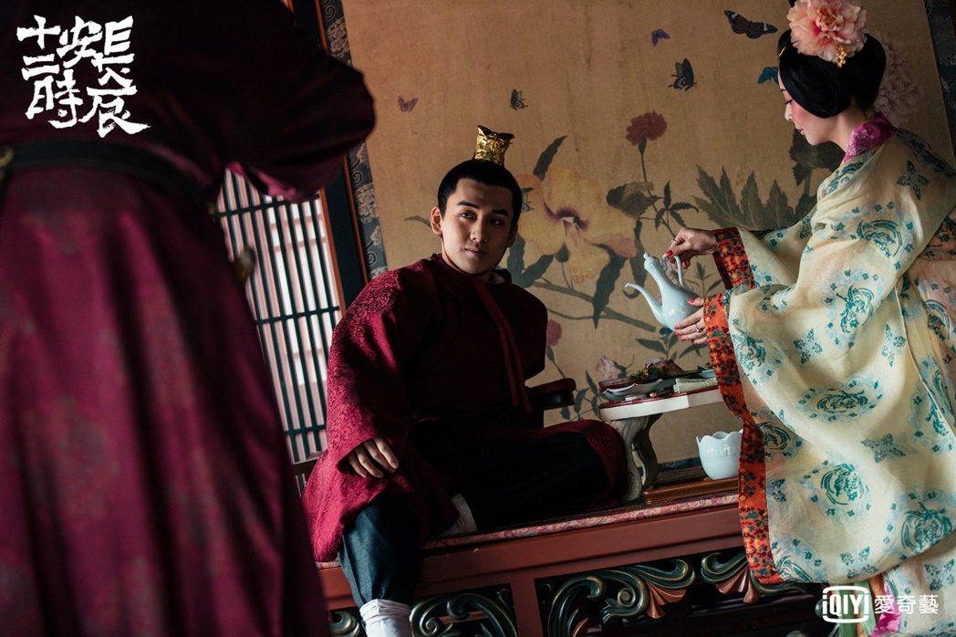 葛兆恩飾演皇帝之子永王 圖/愛奇藝台灣站提供