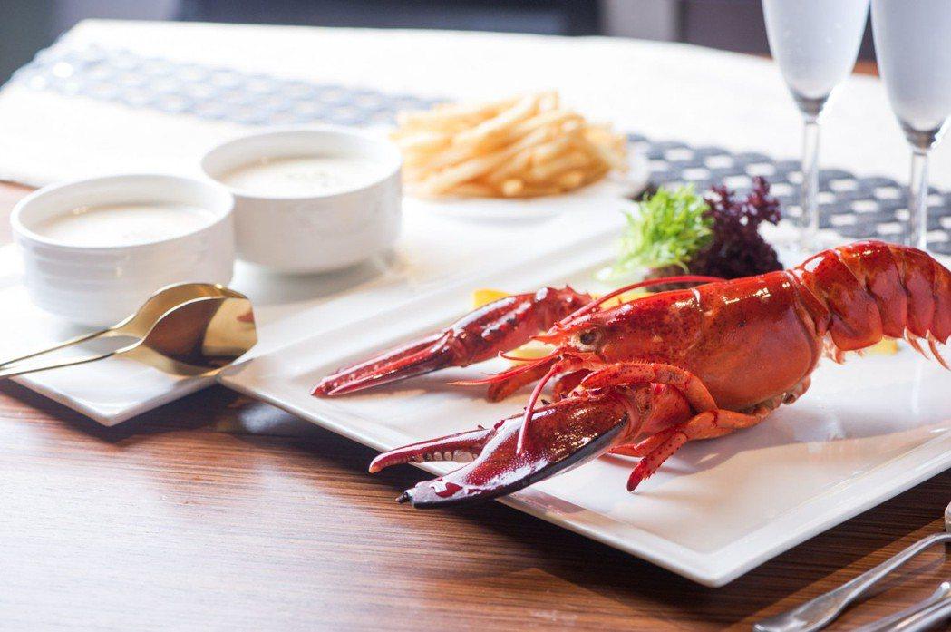 漾館時尚溫泉飯店推出「入宿泡溫泉吃龍蝦」的方案,只要3,199元,即可享受溫泉洗...