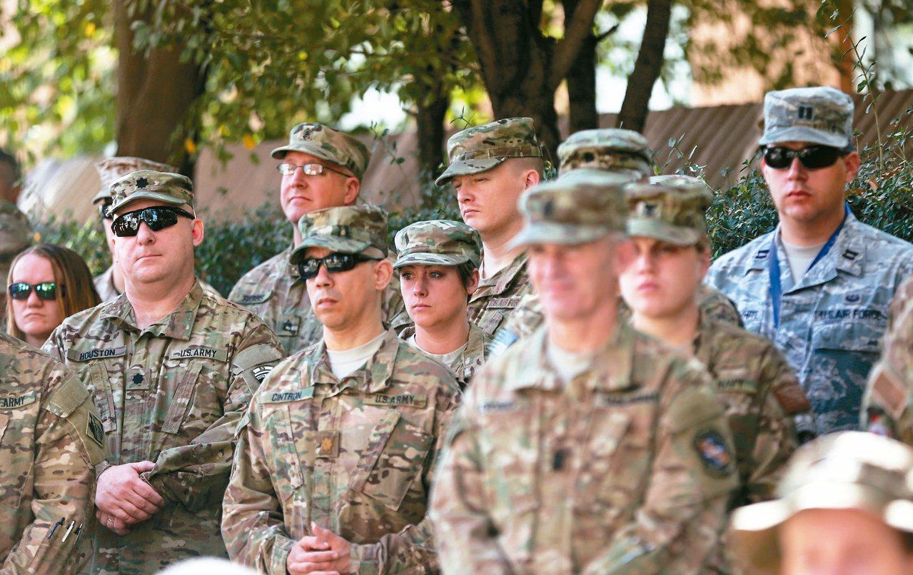 美軍藉由伊朗情勢緊張之際重返中東。 (路透)