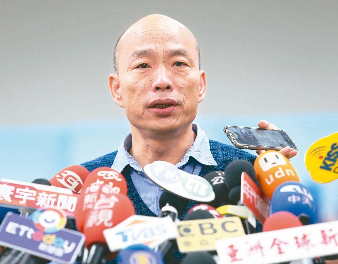 國民黨總統初選底定,高雄市長韓國瑜將批藍袍角逐2020大選,帶職參選遭受批評。 ...