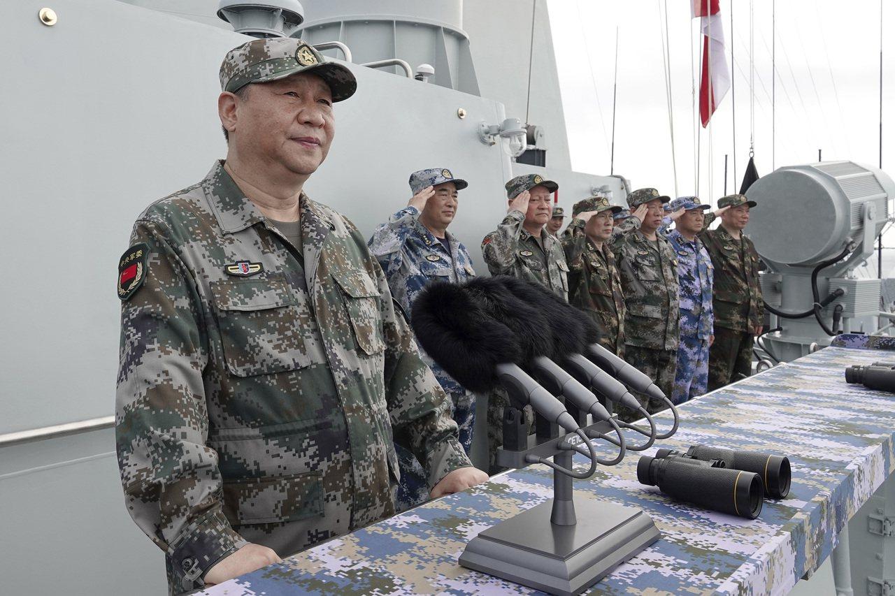 中國近年來在軍事上的不斷擴張,讓美國感到芒刺在背。 (美聯社)