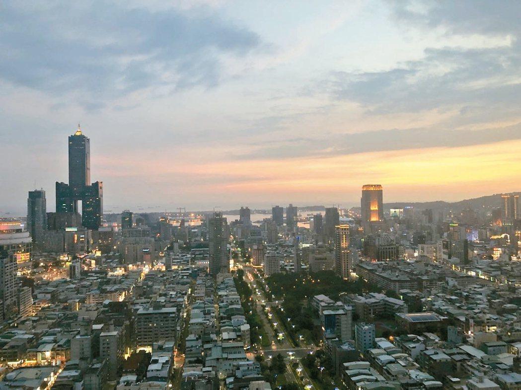 高雄房市的前景受到關注。 記者林政鋒/攝影