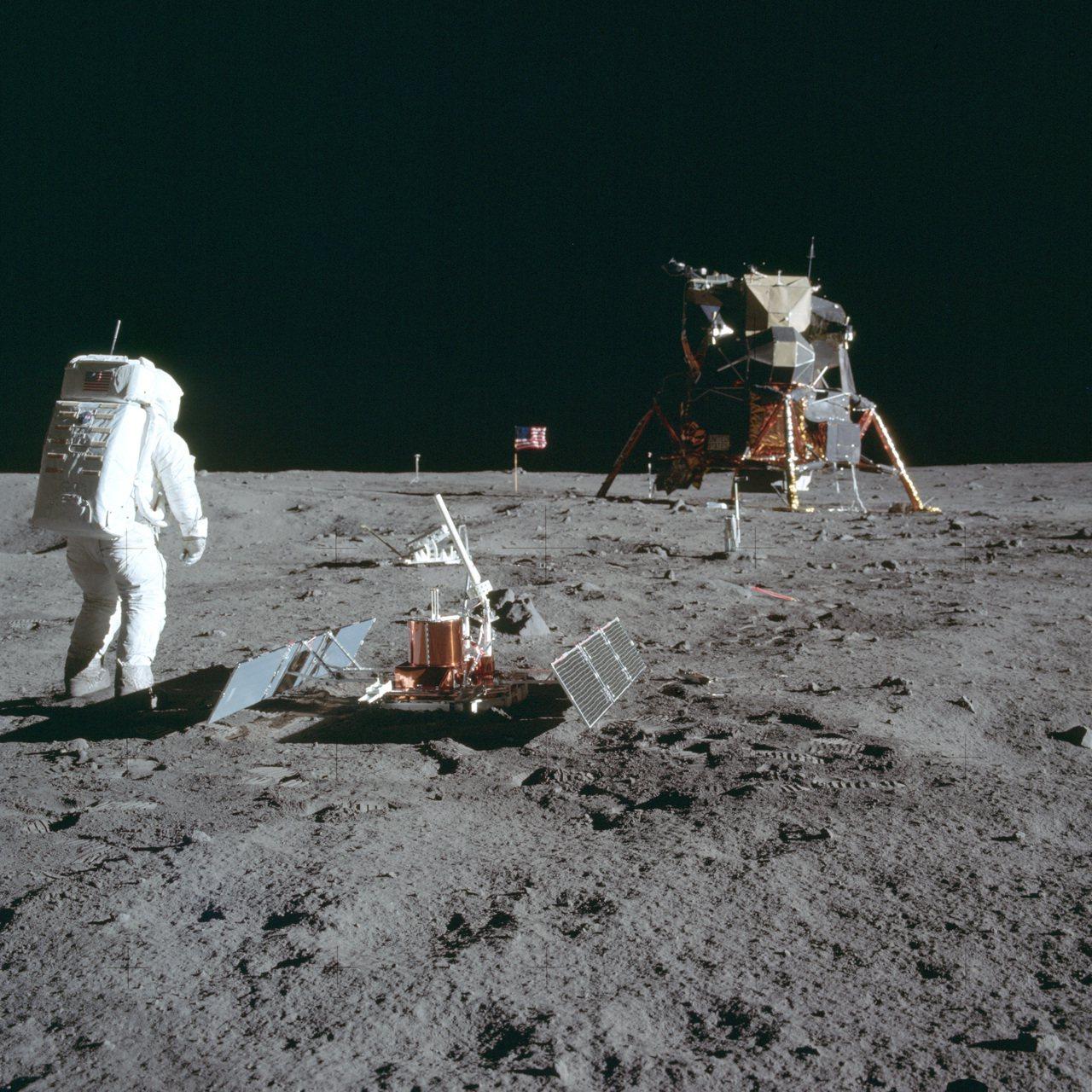 登月50周年當天 美俄太空人同往國際太空站 美聯社