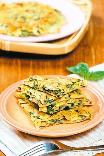 塔香米煎餅