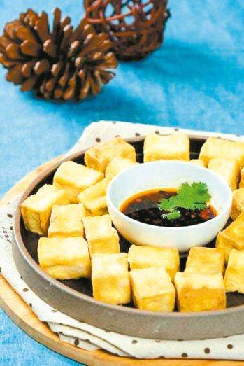 香酥骰子豆腐