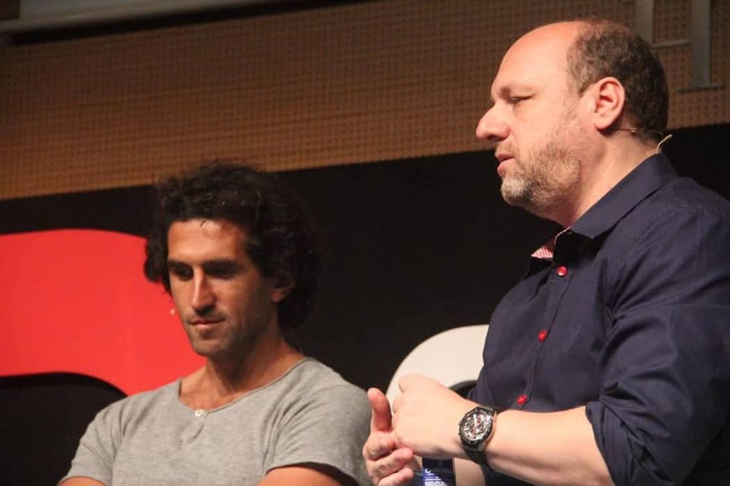 Josef Fares 和 David Cage。來源:gamesindustr...