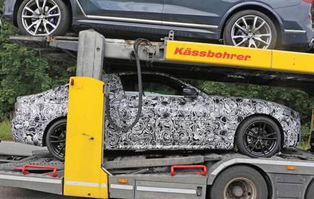 BMW 4-Series雙門跑車測試現蹤 身型竟沒有3-Series影子?