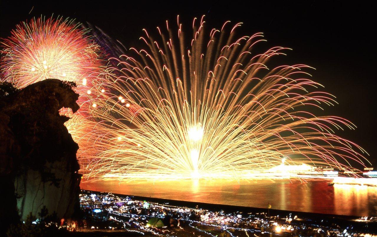熊野大煙火大會。圖/業者提供