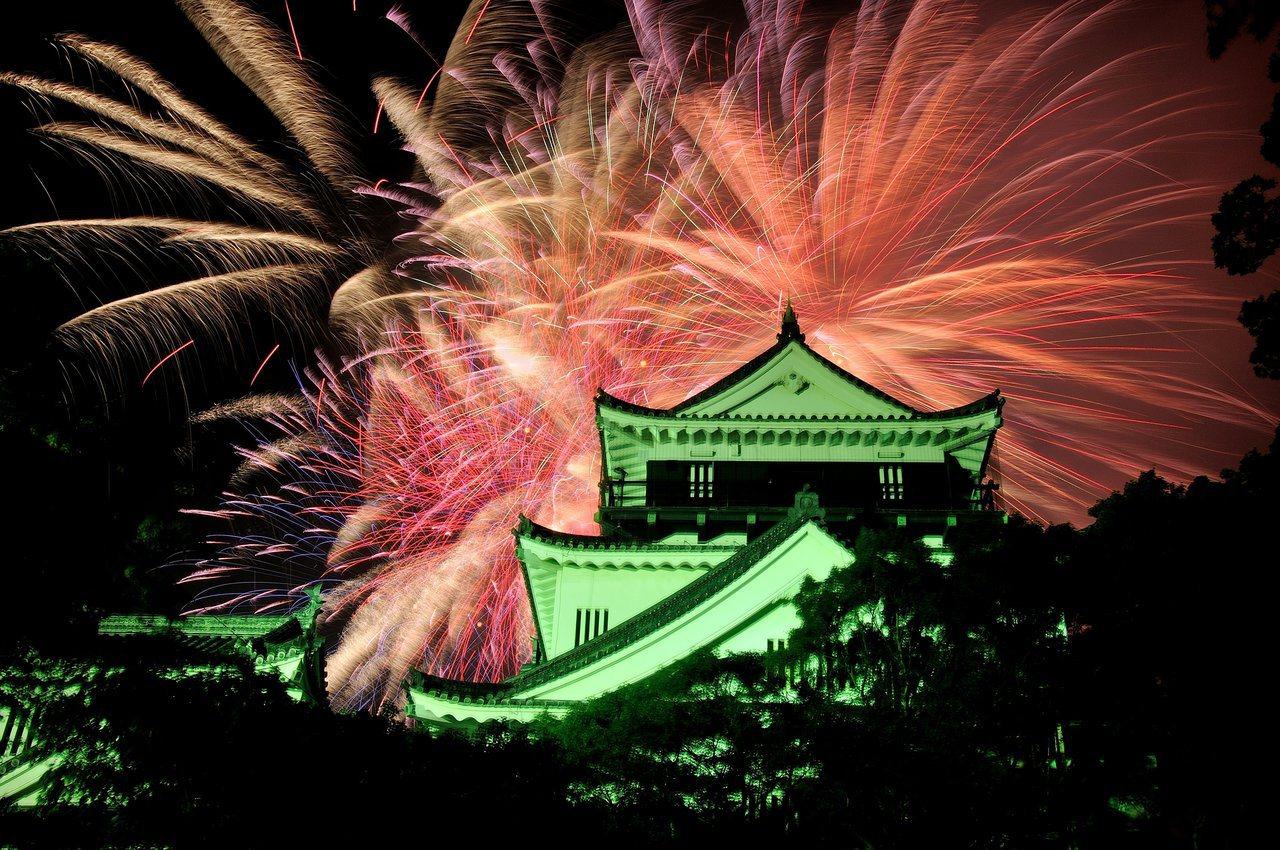 岡崎城下家康公夏祭煙火大會。圖/業者提供